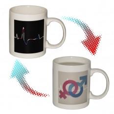 Чашка-хамелеон Кардиограмма (М+Ж)