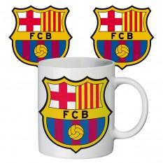 Чашка с принтом 65402 ФК Барселона