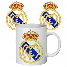 Чашка с принтом 65407 ФК Реал Мадрид