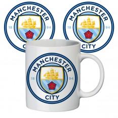 Чашка с принтом 65404 ФК Манчестер Сити