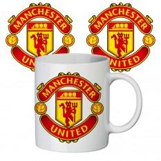 Чашка с принтом 65405 ФК Манчестер Юнайтед