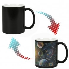 Чашка-хамелеон Планеты солнечной системы