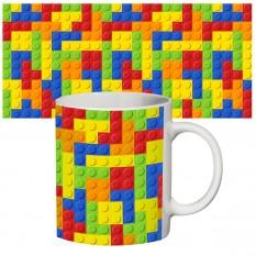 Чашка с принтом 63507 Лего