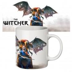Чашка с принтом 63505 Ведьмак