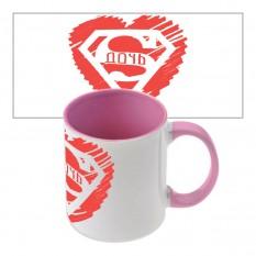 Подарочная чашка Супер Дочка
