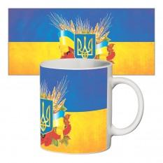 Чашка с принтом 63703 Герб