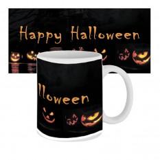 Чашка с принтом 63604 Happy Happy Halloween Тыквы