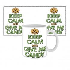 Чашка с принтом 63605 Keep calm