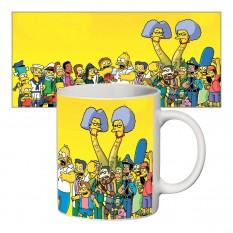 Чашка с принтом 63411 Симпсоны #1