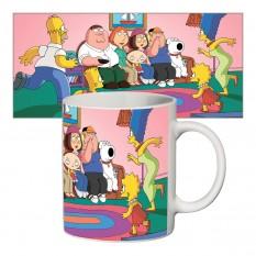 Чашка с принтом 63412 Симпсоны #2