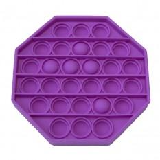Антистресс игрушка Pop It 8-угольник сиреневый