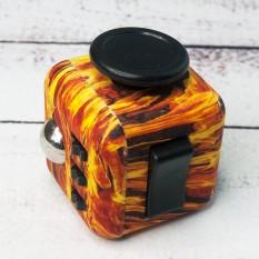 Кубик антистресс Fidget Cube огненный