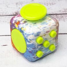 Кубик антистресс Fidget Cube радужный
