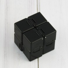 Кубик антистресс Infinity Cube (черный)