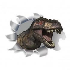 Интерьерная наклейка 3D Динозавр SK-2005 30х20см