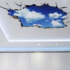 Интерьерная наклейка 3D Голубое небо AY9253 90х60см