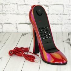 Телефон Туфелька красный
