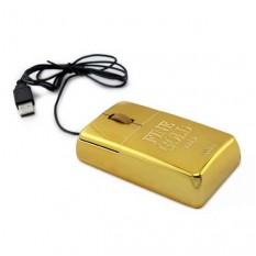 Компьютерная мышка Слиток Золота
