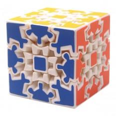 Кубик Рубика 3х3х3 на шарнирах белый (блистер)