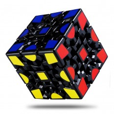 Кубик Рубика 3х3х3 на шарнирах черный