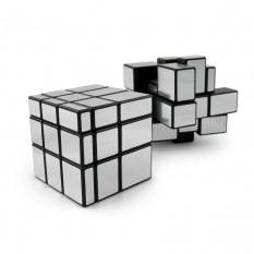 Кубик Рубика 3х3х3 Зеркальный (серебро)