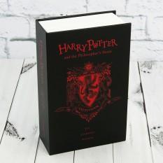 Книга-сейф (18см) Гарри Поттер Гриффиндор (черная с красным)