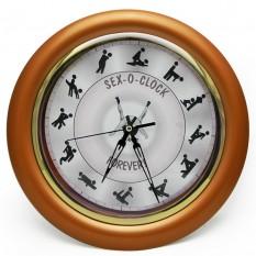 Настенные часы Камасутра большие (бронзовый)