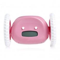 Будильник убегающий Clocky (розовый)