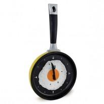 Часы Сковородка с яичницей