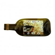 Настенные часы Бутылка Путешествия