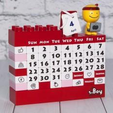 Календарь Конструктор (красный) 41115-1