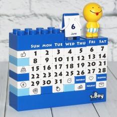 Календарь Конструктор (синий) 41115-1