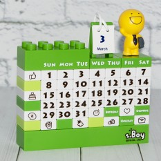 Календарь Конструктор (зеленый) 41115-1