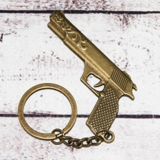 Брелок винтажный 9002 Пистолет Desert Eagle