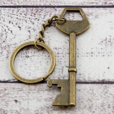 Брелок винтажный Ключик c открывалкой