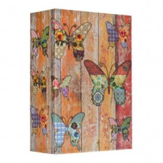 Книга-сейф (18см) Бабочки