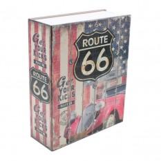Книга-сейф (18см) Трасса 66