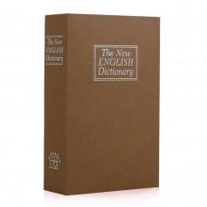 Книга-сейф (11см) Словарь коричневый