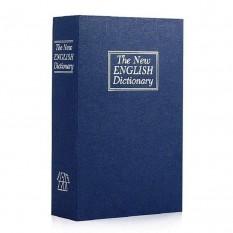 Книга-сейф (18см) Словарь синий