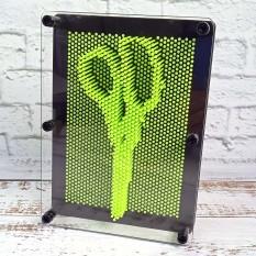 Гвозди ART-PIN Скульптор L пластик зеленые