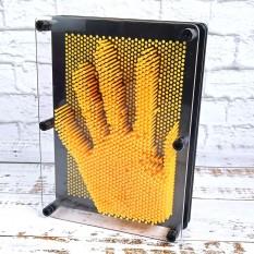 Гвозди ART-PIN Скульптор L пластик желтые