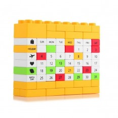Календарь Пазл (желтый)