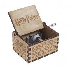 Музыкальная шкатулка винтажная Гарри Поттер (дерево)