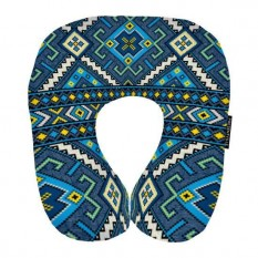Подушка для путешествий Этно (синяя) UKR004