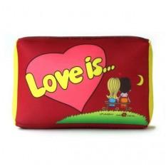 Подушка love (красная)