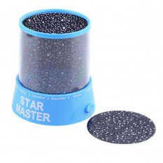 Проектор нічник Зоряне Небо (блакитний)
