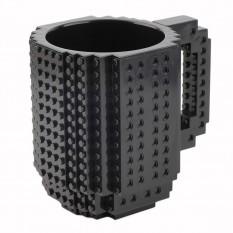 Кружка Лего конструктор (черная)