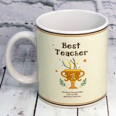 Кружка Учитель года Teacher of the year