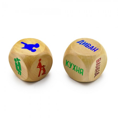 Кубики семейные Камасутра МОДЕРН