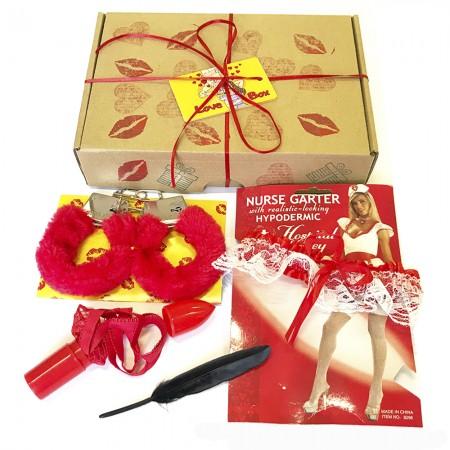 """Подарочный эротический набор """"Love Box"""" 18+"""